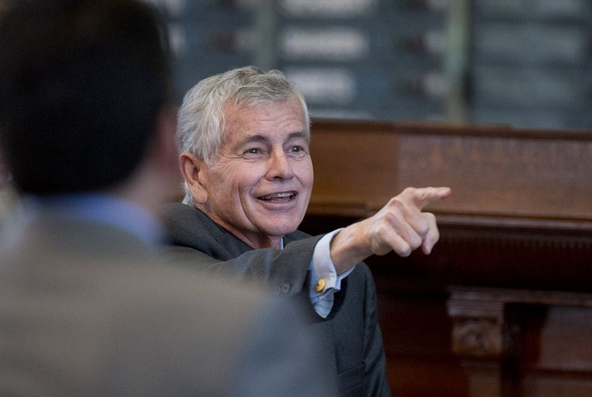 State Rep. Tom Craddick, R-Midland, after the passage of a statewide texting-while-driving ban on March 25, 2015.