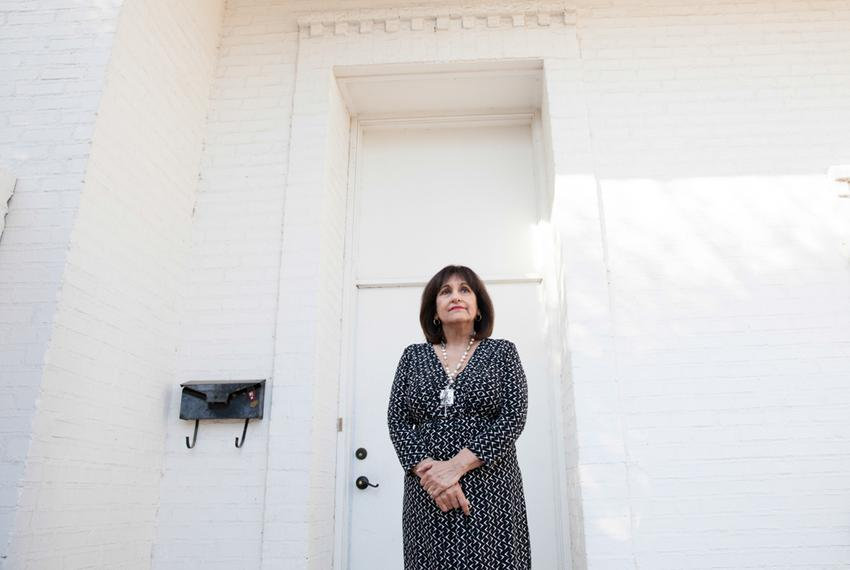 After her father was injured in a fire, Eva Bonilla took him into her home and cared for him until his death in 2010.