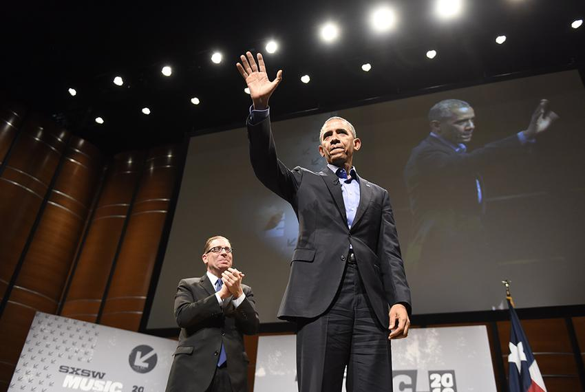 Texas Tribune CEO and Editor-in-Chief Evan Smith interviewed President Barack Obama about civic engagement in a digital age …