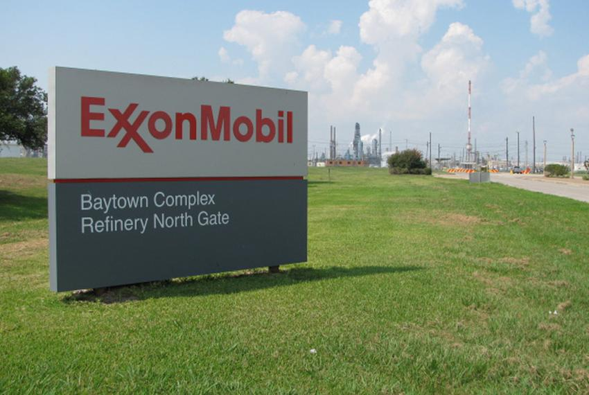 ExxonMobil refinery in Baytown, Texas.