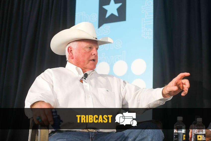 Texas Agriculture Commissioner Sid Miller spoke at The Texas Tribune Festival in Austin.