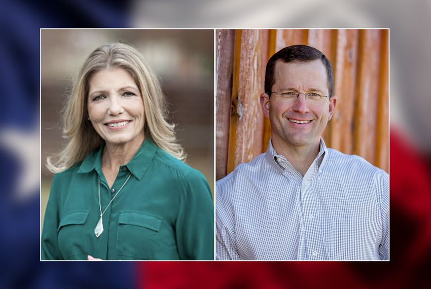 Jill Wolfskill and Ben Leman, candidates for Texas House District 13.