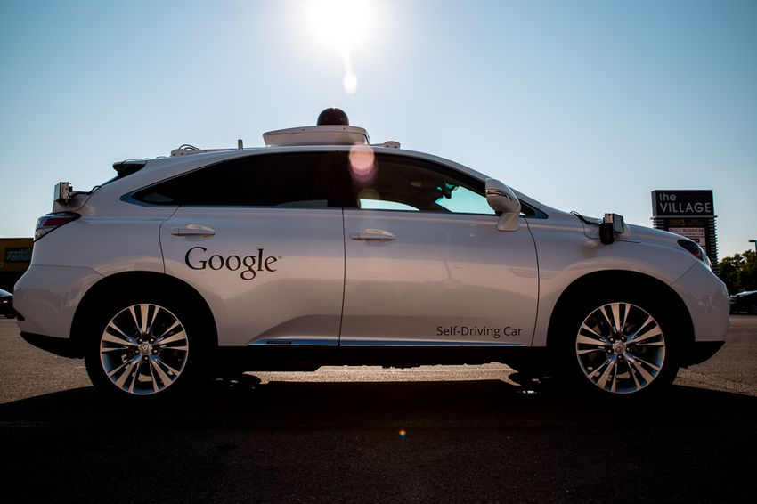 """Google spent the first half of the year blocking Texas lawmakers' efforts to create some statewide oversight of self-driving vehicle testing. Then in July, the technology giant expanded testing of its autonomous software beyond California to Texas. As of November, Google had 12 vehicles driving themselves around parts of north Austin, typically with a """"test driver"""" behind the wheel and another Google employee in the passenger seat collecting data."""