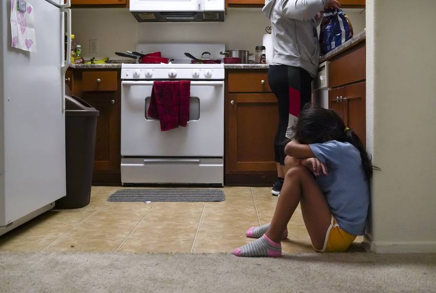 Heyli cries before going to school because she did not get to say good\u002Dbye for the day to her dad before he went to work. Her aunt Lilian sometimes wakes he...