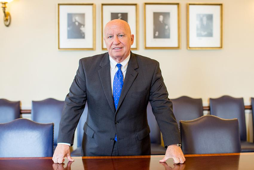 U.S. Rep. Kevin Brady, R-The Woodlands, chairman of the House Ways and Means Committee, in his office in the U.S. Capitol bu…