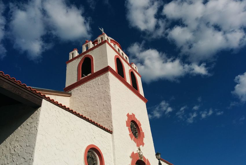 Our Lady of Guadalupe Catholic Church in El Paso.