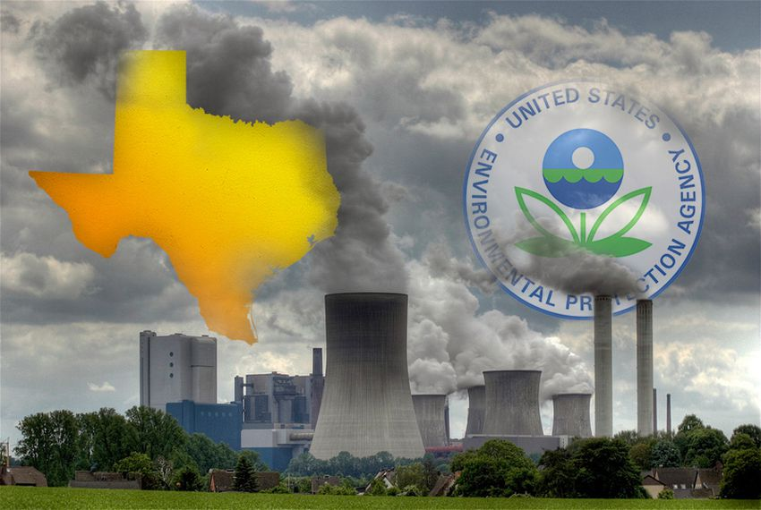 environmental protection agency and texas Holding: the clean air act neither compels nor permits the environmental protection agency to adopt an interpretation of theclean air act requiring a stationary source of pollution to obtain a prevention of significant deterioration or title v permit on the sole basis of its potential greenhouse.