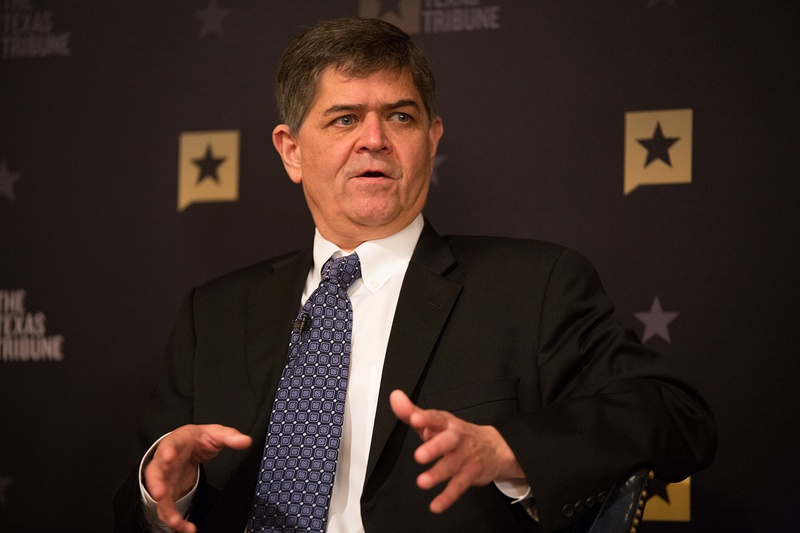 U.S. Rep. Filemon Vela, D-Brownsville, in Austin for a discussion with Texas Tribune CEO Evan Smith, on Monday, Feb. 13, 2017.