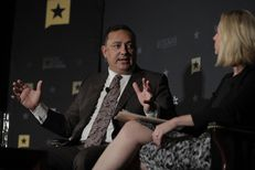 Houston Police Chief Art Acevedo discusses Hurricane Harvey and its aftermath with Tribune Editor-in-Chief Emily Ramshaw at The Texas Tribune Festival on April 23, 2017.