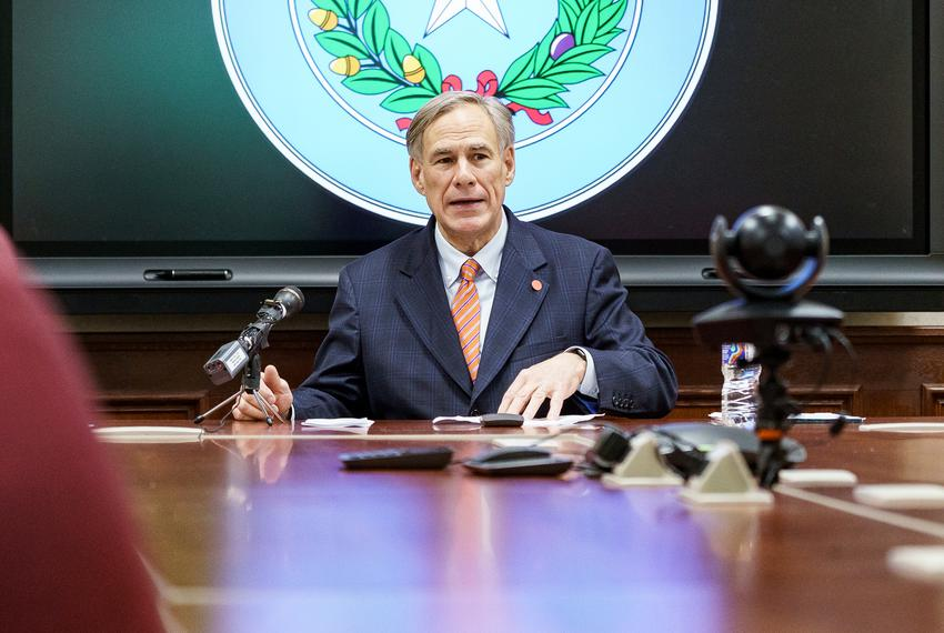 Texas Gov. Greg Abbott announces the activation of the Texas National Guard in response the COVID-19 pandemic. The announc...