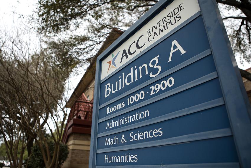ACC Riverside campus on Feb. 27, 2019.