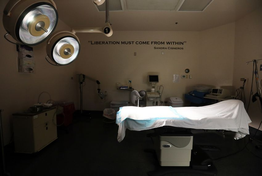 One of the surgery rooms at the Whole Woman's Health Surgical Center in San Antonio, Monday, March 18, 2013.