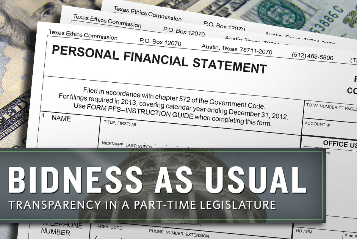 texas ethics commission personal financial statement software Texas ethics commission personal financial financial statement with the texas ethics commission under pfs filing software: go to wwwethicsstatetxus.