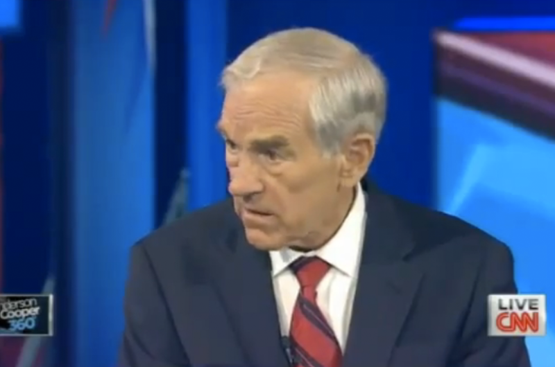 Post GOP debate interview with U.S. Rep. Ron Paul, R-Texas, on June 14, 2011.