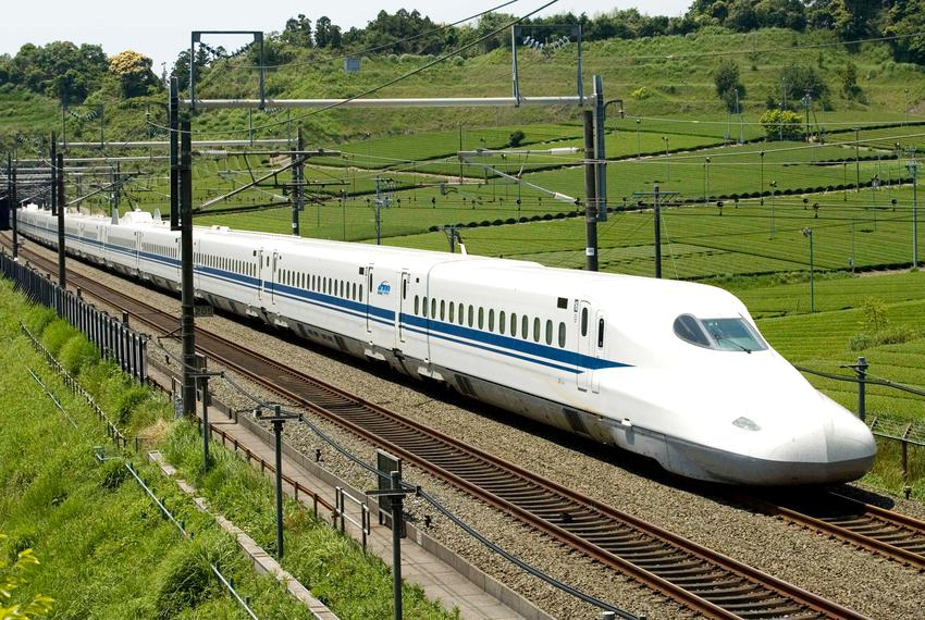 The Japanese Shinkansen is a high-speed train used by JR Central in Japan. A private company is planning to build a rail l...