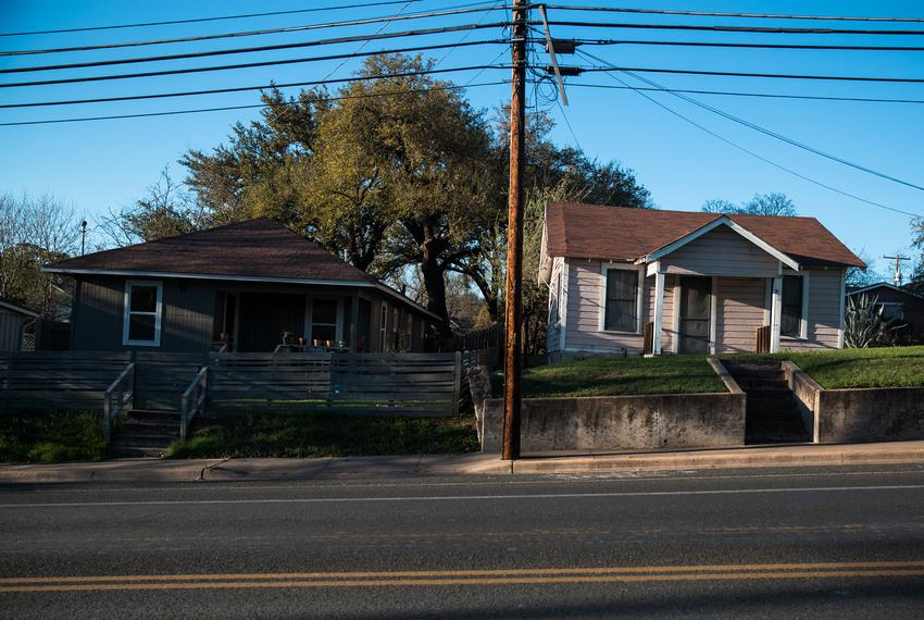 An East Austin neighborhood.