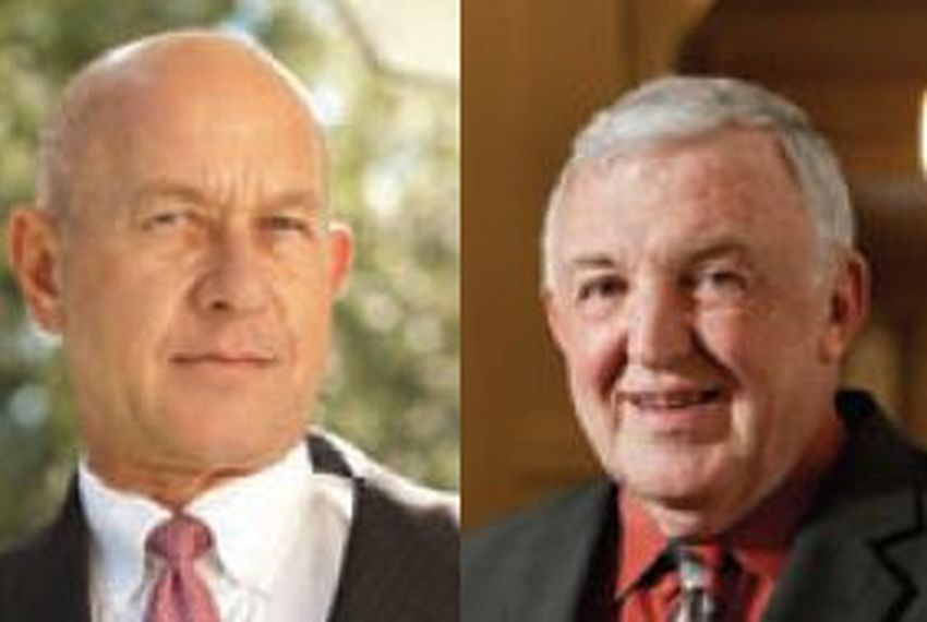 State reps. Jerry Madden and John Whitmire.