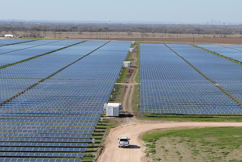 The Webberville Solar Project near Austin.