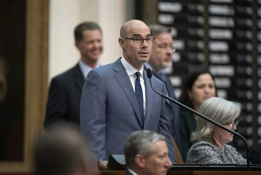 Debate on HB1, the House state budget bill, continues into its 12th hour as House Speaker Dennis Bonnen remains in control o…