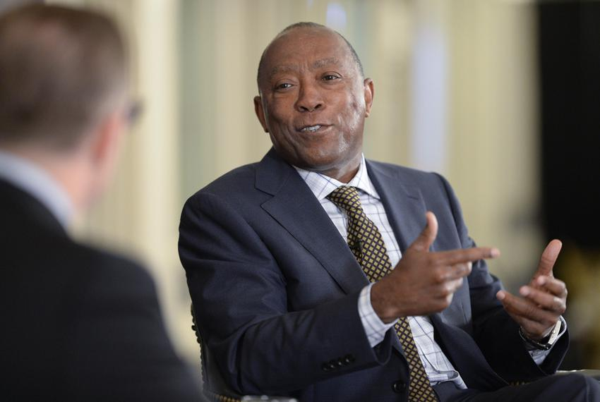 Longtime State Rep. Sylvester Turner, D-Houston, at TTEvents on April 30, 2015.