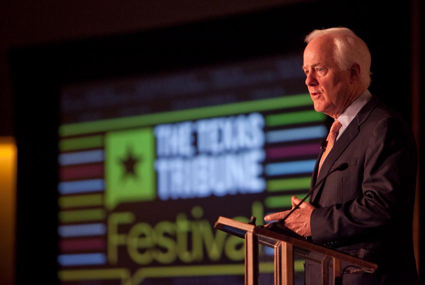Energy Keynote: Are Texas Jobs the Next Endangered Species? with U.S. Senator John Cornyn at the Texas Tribune Festival 2011.